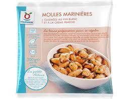 moules cuisin馥s moules surgelées marinières 300 g livré chez vous par toupargel fr
