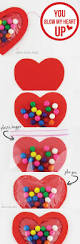 blow my heart up bubble gum valentine craft ideas