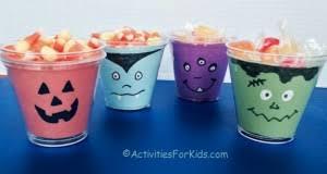 Halloween Cups Halloween Archives Activities For Kids