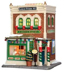lemax village collectibles 15268 cadieux bakery lemax