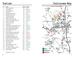 Colorado Springs Zip Code Map by Atv Trails Guide Colorado Central Mountains Charles A Wells