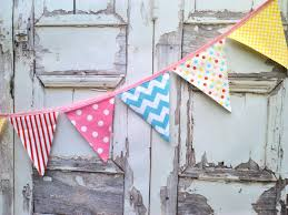 International Bunting Flags Fabric Bunting Flags Party Pennant Banner Buntings Banner