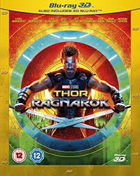 Thor Ragnarok Thor Ragnarok 3d Bd 2017 Region Free Co Uk