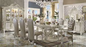 white dining room set dallas designer furniture versailles large formal dining room
