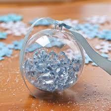 80mm clear acrylic fillable ornament acrylic fillable