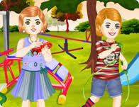 twin kids dress up games