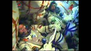 soyuz launches to space station youtube