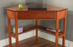 Small Oak Computer Desk Corner Desk Small Oak Computer Desk In Brown Varnished Modern