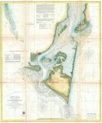 Map Of North Carolina Coast File 1857 U S C S Map Of Cape Fear North Carolina Geographicus