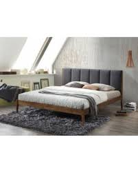 Mid Century Beds Deal Alert Wholesale Interiors Rachele Mid Century Fabric And
