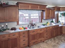 Kitchen Door Styles For Cabinets Custom Country Kitchen Cabinets Oak E With Design