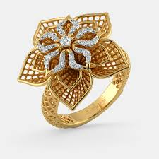rings images the daffodil lattice ring bluestone
