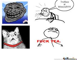 Troll Face Memes - trollface at minecraft by masterman meme center