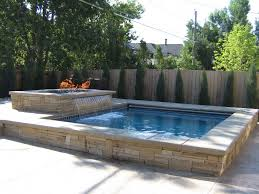 Pool Ideas For Small Backyards Spa Pool Spa Castle Pines Co All Tile Round Spa With Raised