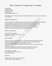 Resume Objective For Warehouse Worker Echo Sonographer Resume Sample Contegri Com