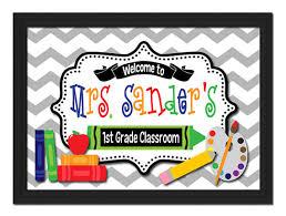 25 images of teacher door sign template infovia net