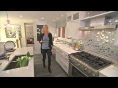 Candice Olson Kitchen Design Shiny Kitchen Backsplash By Candice Olson Makes This White Kitchen