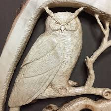 owl wood carving new year sale owl wood carving carved wall sculpture