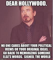 Hollywood Meme - face you make robert downey jr meme imgflip