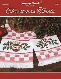 christmas towels leaflet 382 christmas towels stoney creek online store