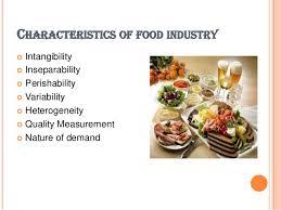 cuisine characteristics food service industry