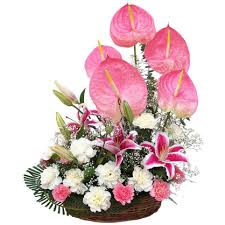 flower baskets flowers basket to india send flowers to india same day flowers