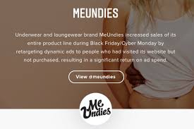 underwear black friday instagram case study meundies