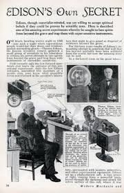 Thomas Edison Electric Chair Strange Edison Inventions Gallery