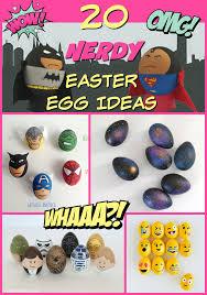batman easter basket 20 nerdy easter egg ideas for the nerdy family