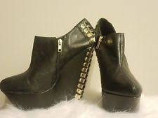 s designer boots size 9 betsey johnson wedge s boots ebay