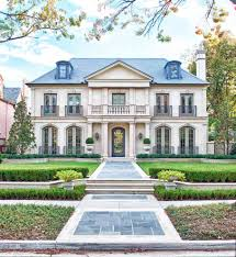 Traditional Style House by Modern French Style Homes Good French Country House Americas Home
