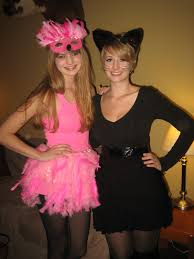 pink flamingo black cat costume ideas costumes pinterest