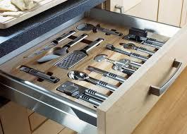 kitchen organizer bamboo kitchen drawer organizers with metal