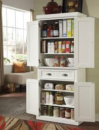 Wooden Kitchen Pantry Cabinet Furniture White Wooden Kitchen Pantry Cabinet With Shelves And