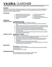 assistant manager resume retail manager resume retail assistant manager resume retail