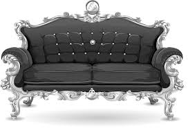 free vector graphic couch sofa loveseat black free image on