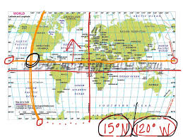 Latitude Map Of The World by Showme How To Read A Map Latitude And Longitude