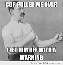 Meme Boxing - cop pulled me over i let him off with a warning funny boxing meme