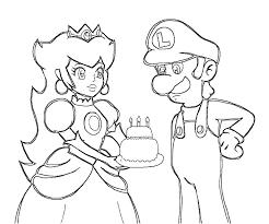 Coloriages de dessins animés  Luigi  Page 2