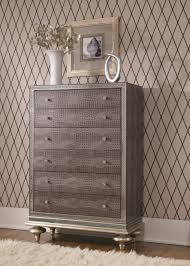 Hollywood Swank Bedroom Furniture Michael Amini Aico Hollywood Swank 5 Drawer Chest