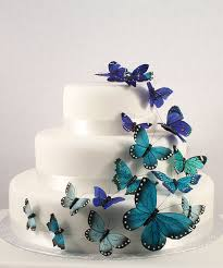 Beautiful Butterflies Quinceanera Cake Decorations 15 Cake Toppers