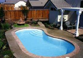 Backyard Pool Sizes by Small Kidney Shaped Swimming Pool Designs For Small Backyard Space