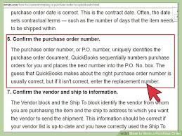 4 ways to write a purchase order wikihow