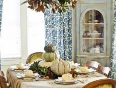 Fall Dining Room Table Decorating Ideas 15 Stylish Thanksgiving Table Settings Hgtv