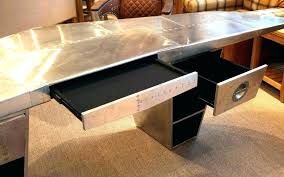 aircraft wing desk for sale airplane wing desk aviator desk restoration hardware medium image
