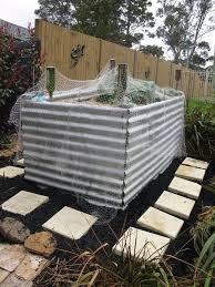 another corrugated iron raised garden bed hometalk
