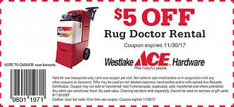 The Rug Doctor Coupons Ads U0026 Specials Westlake Ace Hardware