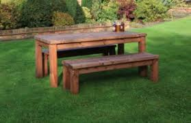 Bench Outdoor Furniture Home Design Nice Outdoor Table With Benches Wooden Patio And