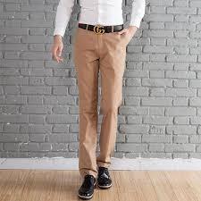 vetement de bureau pantalon homme suit vêtements de travail bureau kaki achat