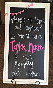 baby shower chalkboard 10 inspiring adoption baby shower party ideas cutestbabyshowers
